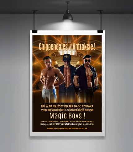 Plakat Chippendales MAGIC BOYS